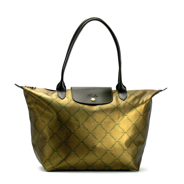 Shoulder Bag Lady S Handbag Bronze Longchamp ルプリアージュ Leather Tote Brand Name Products Trip With ロンシャントートバッグル プリアージュファスナー