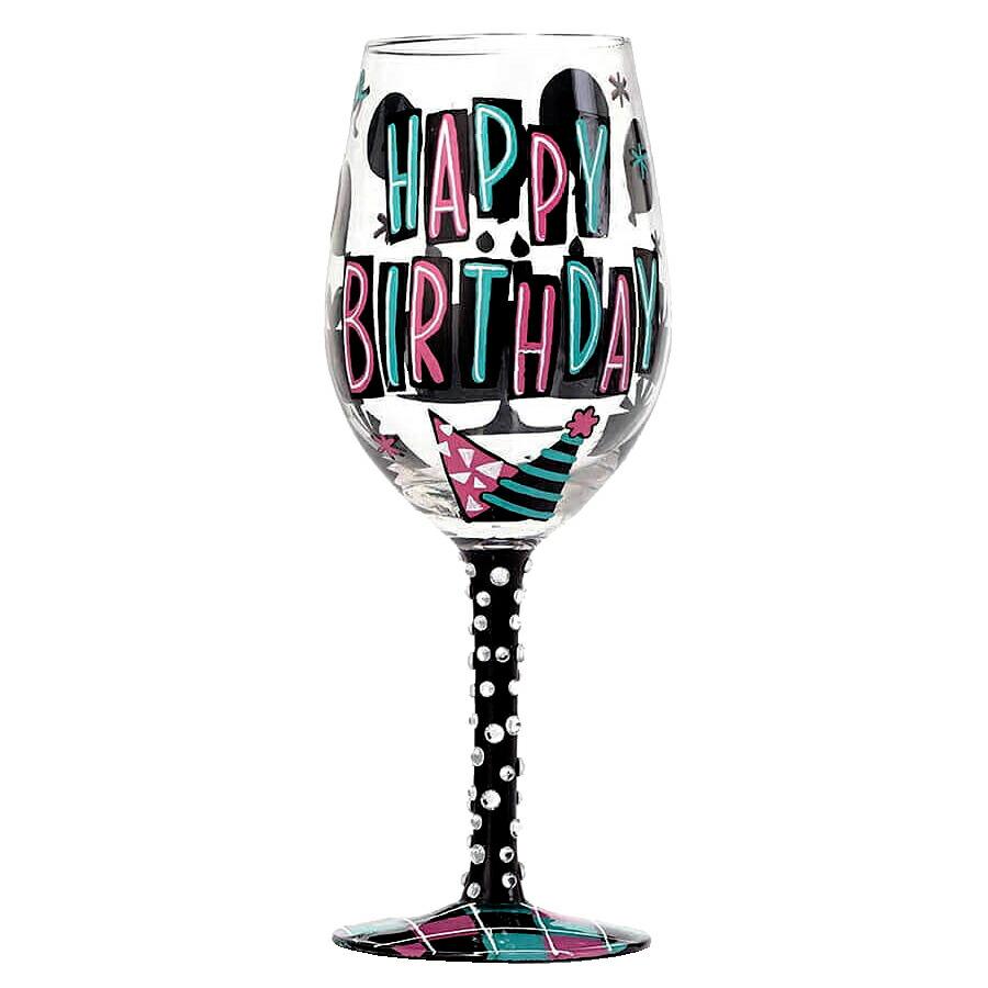 ロリータ LOLITA ワイングラス WINE GLASS HAPPY DAY ハッピーデー ブランド おしゃれ 結婚祝い プレゼント グラス 食器 引っ越し祝い パーティ お洒落な引っ越し祝い ユニークな引っ越し祝い 1人暮らし 退職祝い 女性 プチプレゼント 贈答品 お祝い 20代 30代 40代 ギフト