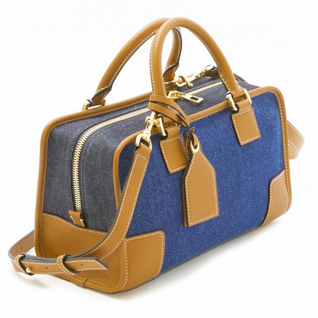 Take Loewe LOEWE 352.28 .N03 6386 アマソナ AMAZONA handbag shoulder bag 2WAY  レディースデニムブルー ... 22367138397ba