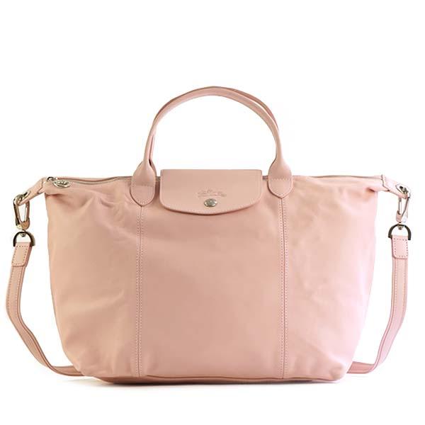 2133feafe275 Longchamp LONGCHAMP handbag shoulder bag 1515 737 C59 LE PLIAGE CUIR  ルプリアージュキュイール GIRL light pink system