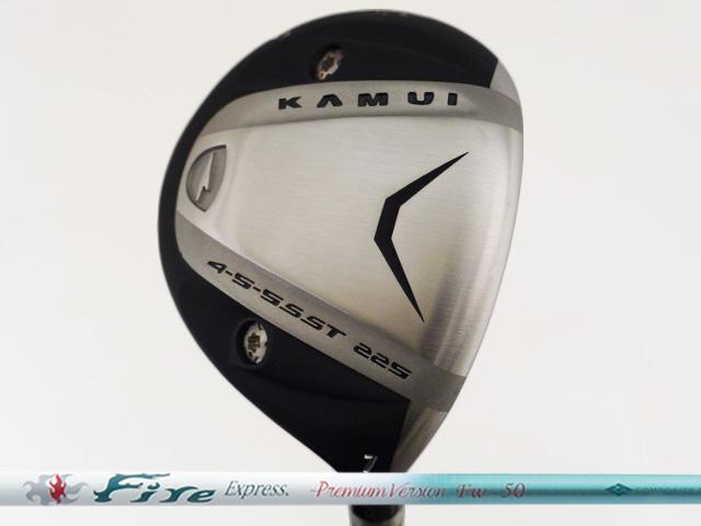 Kamui カムイ TP-XF SUS フェアウェイウッド Fire Premium 時間指定不可 Version ストア Express FW-50シャフト