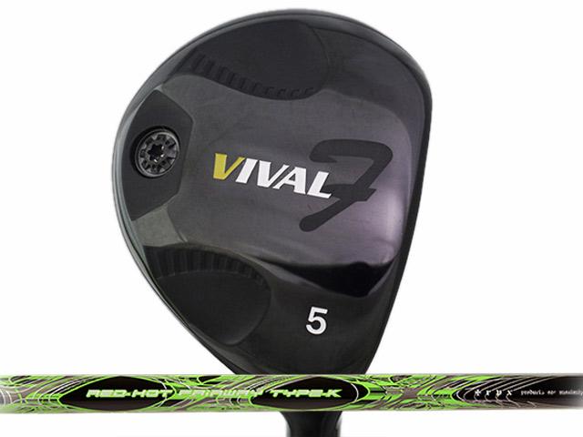 日幸物産 VIVAL F (ヴィバル エフ) フェアウェイウッド TRPX RED-HOT Type-Kシャフト