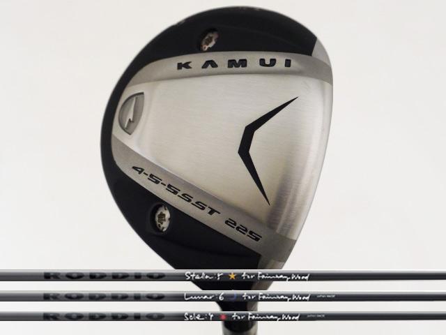 Kamui (カムイ) TP-XF SUS フェアウェイウッド RODDIO FW STELLA/LUNAR/SOLEシャフト