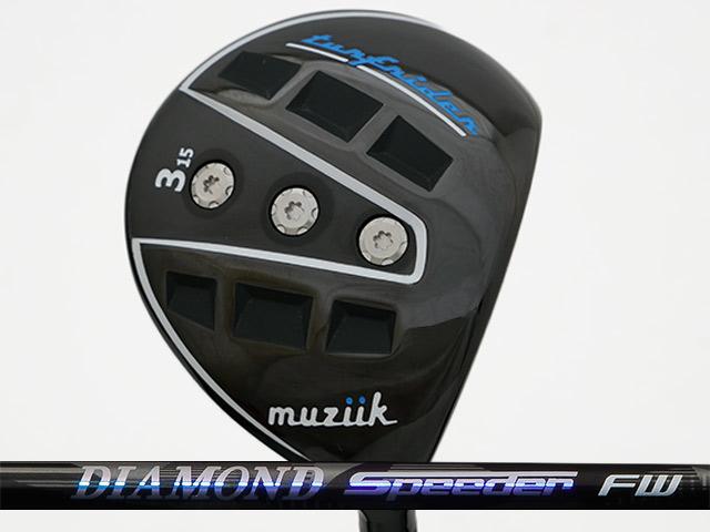 Muziik (ムジーク) TurfRider フェアウェイウッド  DIAMOND Speeder FWシャフト