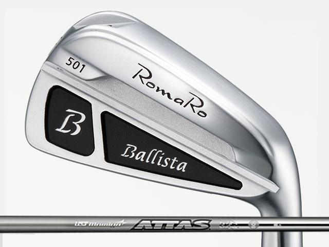 RomaRo (ロマロ) Ballista 501 アイアン 5-Pw ATTAS IRON 10シャフト