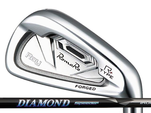 新品同様 RomaRo (ロマロ) Ray Ray Type R PLUS RomaRo アイアン PLUS 5-Pw DIAMOND Speeder IRONシャフト, 快適ホーム:3d17ae66 --- online-cv.site