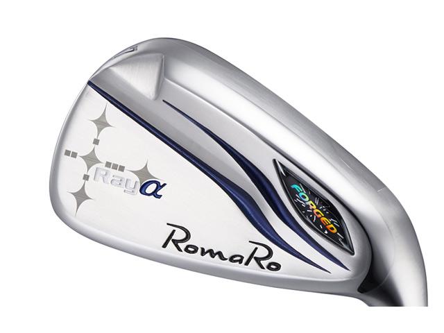 RomaRo (ロマロ) Ray α(アルファ) アイアン COLOR TUNE 6本セット RJ-Ti5シャフト