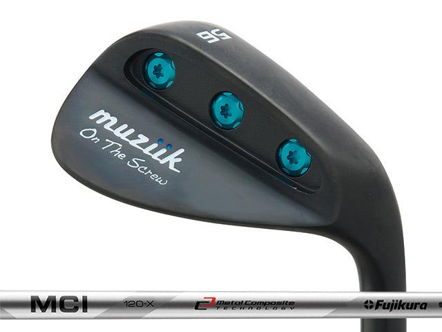 Muziik (ムジーク) On The Screw QPQ ウェッジ Fujikura MCI 120シャフト