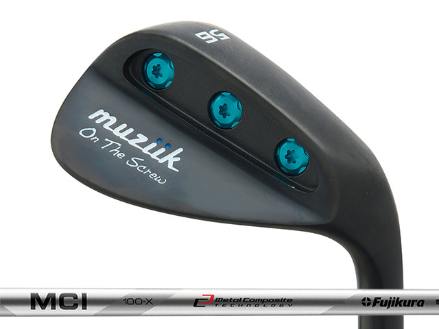 Muziik (ムジーク) On The Screw QPQ ウェッジ Fujikura MCI 90/100/110シャフト
