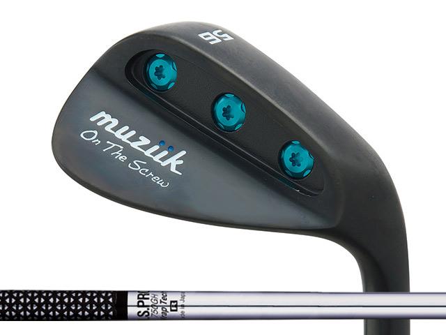 Muziik (ムジーク) On The Screw QPQ ウェッジ N.S.PRO 750GHシャフト