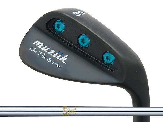 Muziik (ムジーク) On The Screw QPQ ウェッジ N.S.PRO 850GHシャフト