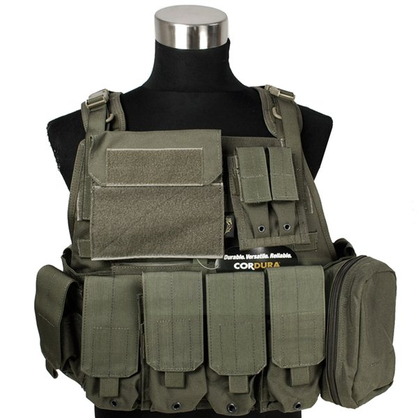 FLYYE MOLLE Style PC Plate Carrier with Pouch set RG サバゲー,サバイバルゲーム,ミリタリー