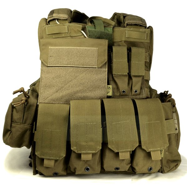 FLYYE Force Recon Vest with Pouch Set Ver.MAR CB サバゲー,サバイバルゲーム,ミリタリー
