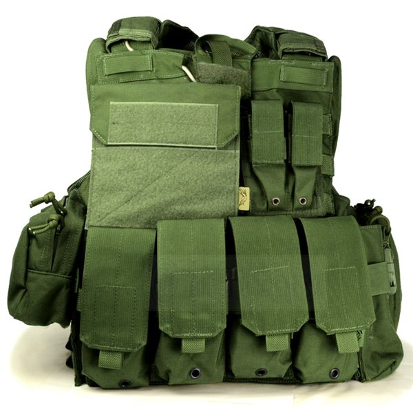 FLYYE Force Recon Vest with Pouch Set Ver.MAR OD サバゲー,サバイバルゲーム,ミリタリー