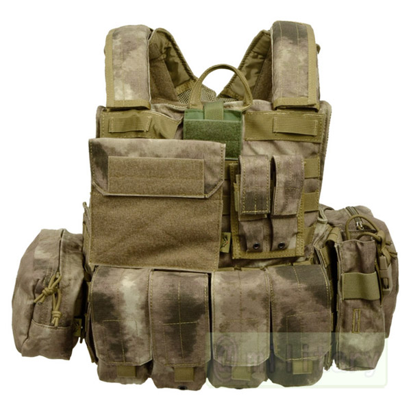 FLYYE Force Recon Vest with Pouch Set Ver.MAR A-TACS サバゲー,サバイバルゲーム,ミリタリー