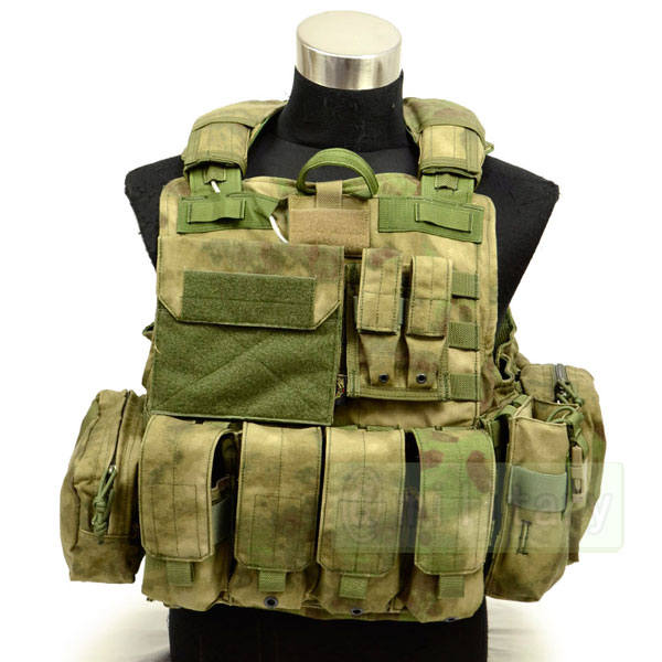 FLYYE Force Recon Vest with Pouch Set Ver.MAR A-TACS FG 【A-TACS森林ver】 サバゲー,サバイバルゲーム,ミリタリー