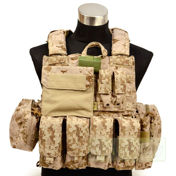 FLYYE Force Recon Vest with Pouch Set Ver.MAR AOR1