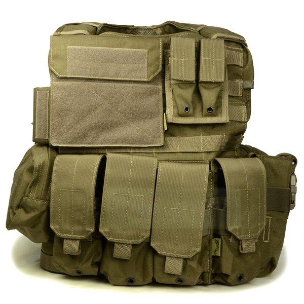 FLYYE Force Recon Vest with Pouch Set Ver.Land CB サバゲー,サバイバルゲーム,ミリタリー