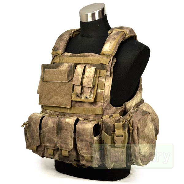 FLYYE Force Recon Vest with Pouch Set Ver.Land A-TACS サバゲー,サバイバルゲーム,ミリタリー