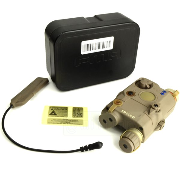 FMA製 PEQ LA5 タイプ LEDライトシステム DE 【限定 シリアルナンバー入り】 サバゲー,サバイバルゲーム,ミリタリー
