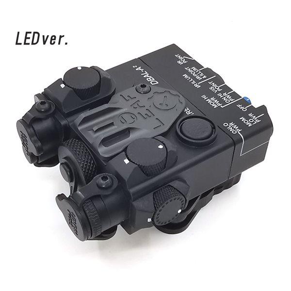 SOTAC-GEAR LEDライトver. DBAL-A2 - AN/PEQ-15A タイプ ライト ブラック サバゲー,サバイバルゲーム,ミリタリー