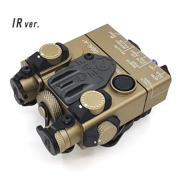 SOTAC-GEAR 【IR(赤外線)ライトver.】 DBAL-A2 - AN/PEQ-15A タイプ デザートカラー サバゲー,サバイバルゲーム,ミリタリー