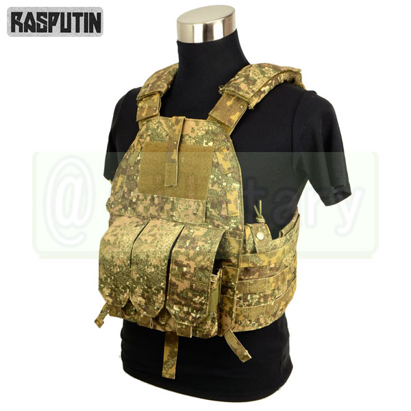 Rasputin 94K-M4 Plate Carrier 【Pencott Badland】 [実物生地使用] [M4マグ対応] サバゲー,サバイバルゲーム,ミリタリー