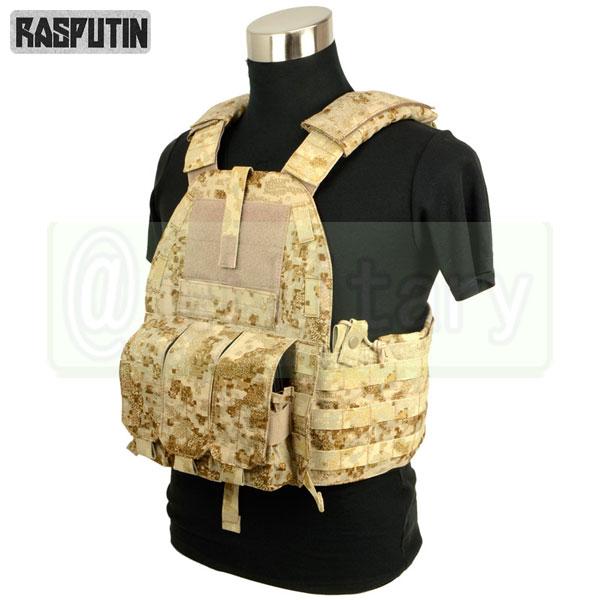 Rasputin 94K-M4 Plate Carrier 【Pencott SandStorm】 [実物生地使用] [M4マグ対応] サバゲー,サバイバルゲーム,ミリタリー