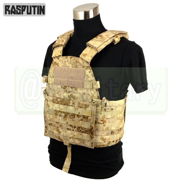 Rasputin 94B Plate Carrier 【Pencott SandStorm】 [実物生地使用] サバゲー,サバイバルゲーム,ミリタリー