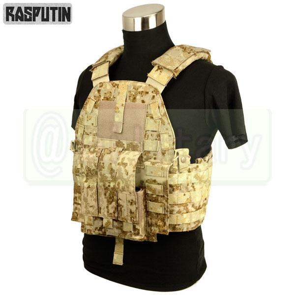Rasputin 94K-MP7 Plate Carrier 【Pencott SandStorm】 [実物生地使用] [MP7マグ対応]