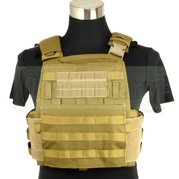 """MODI AVS プレートキャリアー [AVS """"Adaptive Vest System""""] CB サバゲー,サバイバルゲーム,ミリタリー"""