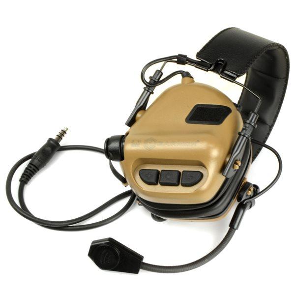 OPSMEN M32 ヘッドセット コヨーテブラウン サバゲー,サバイバルゲーム,ミリタリー