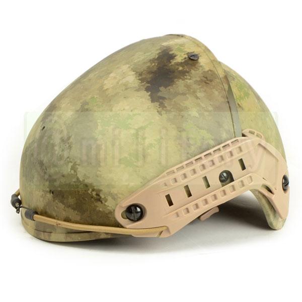 FMA製 Crye タイプ エアフレイム ヘルメット A-TACS サバゲー,サバイバルゲーム,ミリタリー