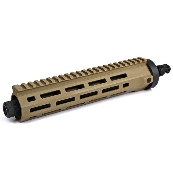 ARES M45 電動サブマシンガン用 M-LOK CNC ハンドガード ロング デザートカラー サバゲー,サバイバルゲーム,ミリタリー