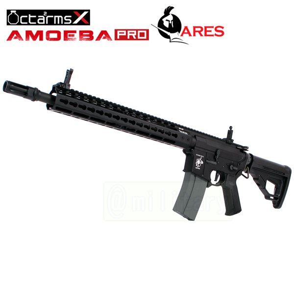 ARES 【AMOEBA PRO】[13インチ ハンドガード][KeyModシステム] M4-KM13 アサルトライフル 電動ガン BK サバゲー,サバイバルゲーム,ミリタリー