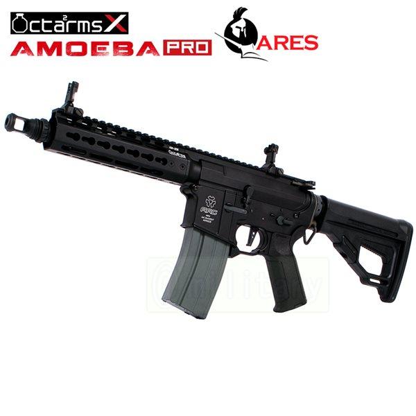 ARES 【AMOEBA PRO】[7インチ ハンドガード][KeyModシステム] M4-KM7 アサルトライフル 電動ガン BK サバゲー,サバイバルゲーム,ミリタリー