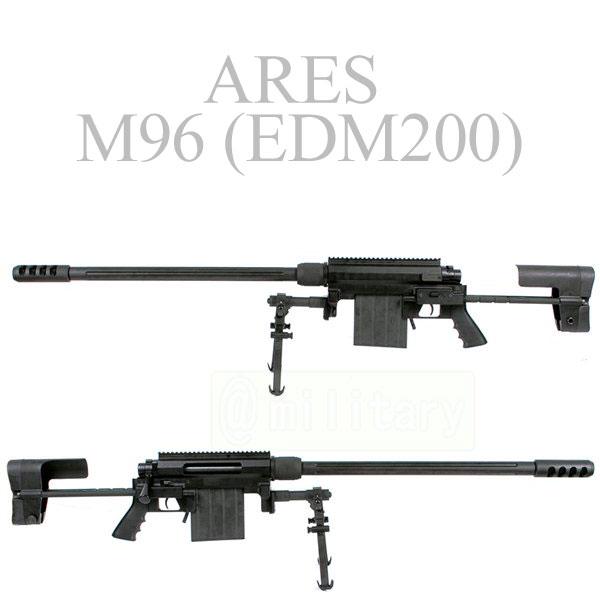 ARES M96 【EDM200】 エアコッキング BK 【数量限定】 サバゲー,サバイバルゲーム,ミリタリー
