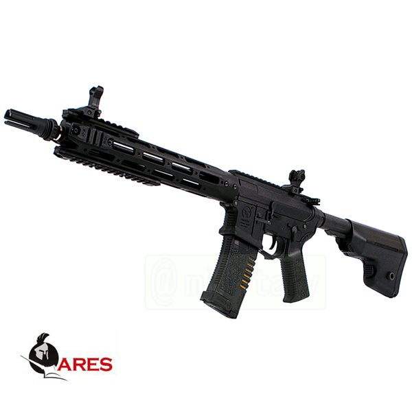 ARES コンバットギア タクティカルライフル ロング [AM-009] ブラック サバゲー,サバイバルゲーム,ミリタリー