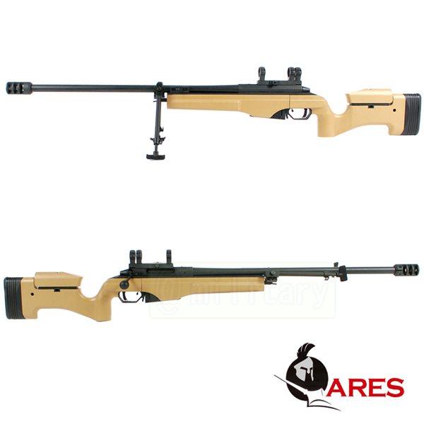 ARES SAKO TRG-42 ガス式 ボルトアクションスナイパーライフル DE サバゲー,サバイバルゲーム,ミリタリー