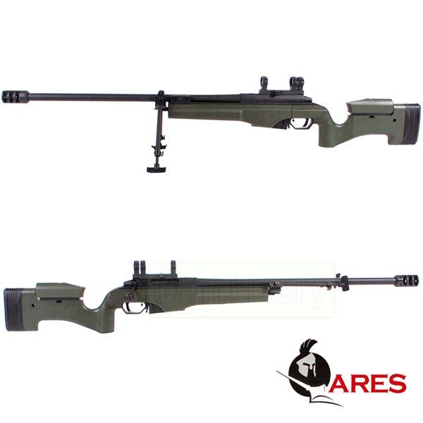ARES SAKO TRG-42 ガス式 ボルトアクションスナイパーライフル OD サバゲー,サバイバルゲーム,ミリタリー