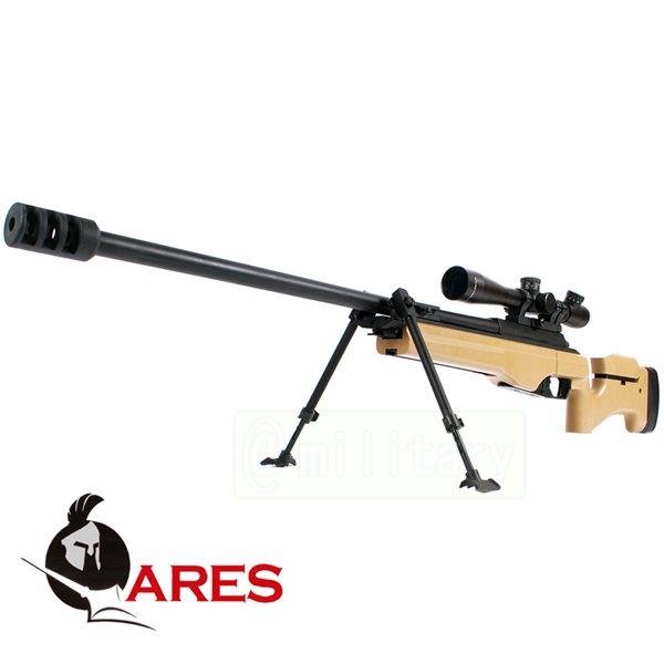 ARES SAKO TRG-42 ガス式 ボルトアクションスナイパーライフル DE スコープセット