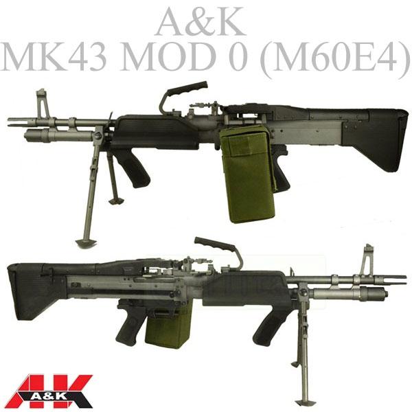 A&K MK43 MOD 0 【M60E4】 軽機関銃 AEG サバゲー,サバイバルゲーム,ミリタリー