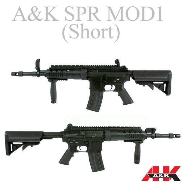 A&K SPR MOD1 【Short】 電動ライフル サバゲー,サバイバルゲーム,ミリタリー