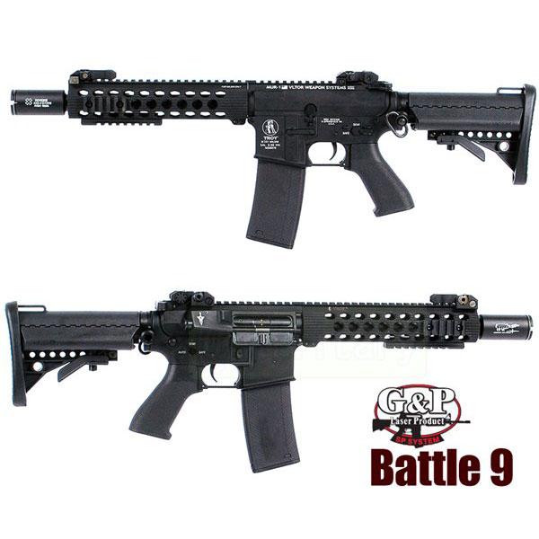 G&P TROY Battle 9インチ ライフル AEG サバゲー,サバイバルゲーム,ミリタリー
