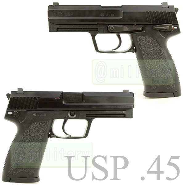 KWA / UMAREX USP45 メタルスライドver ガスブローバック 【H&K正式ライセンス】