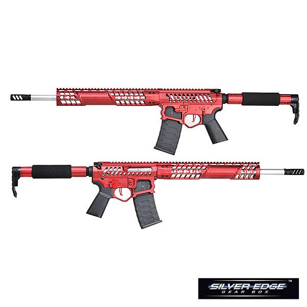 APS/EMG F1 FIREARMS BDR-15 3G Skeletonized 電動ガン レッド/TRONストックver サバゲー,サバイバルゲーム,ミリタリー