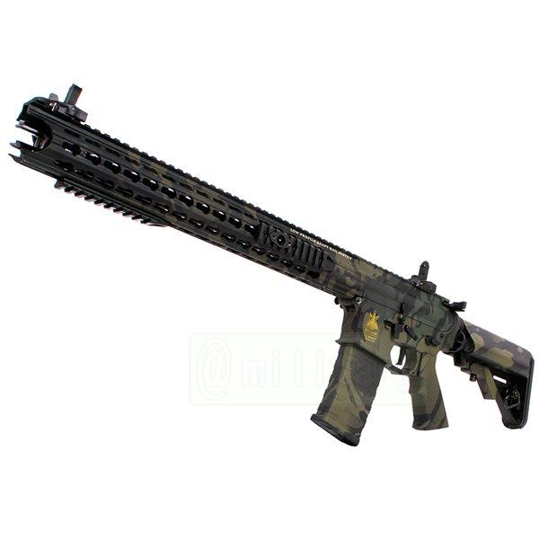 APS BOAR Defense Ambi ライフル タクティカル 電動ガン マルチカムブラック迷彩バージョン