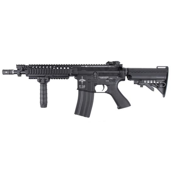 メーカー協賛【サバゲー応援】 King Arms M4 VIS カービン 電動ガン ブラック