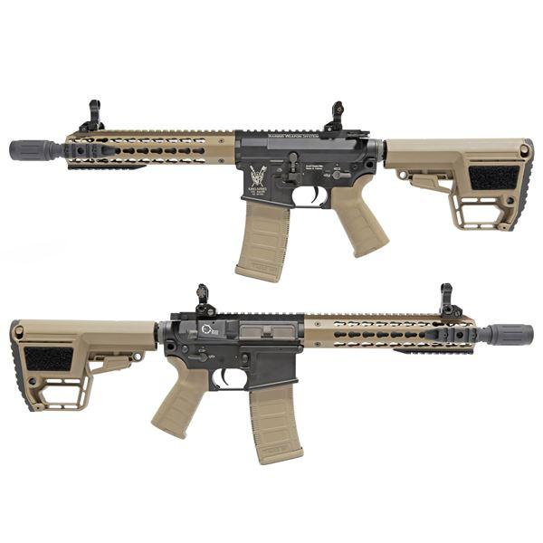 King Arms M4 TWS キーモッド CQB 電動ガン デザートカラー