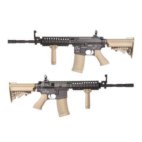King Arms TWS M4 VIS カービン 電動ガン デザートカラー